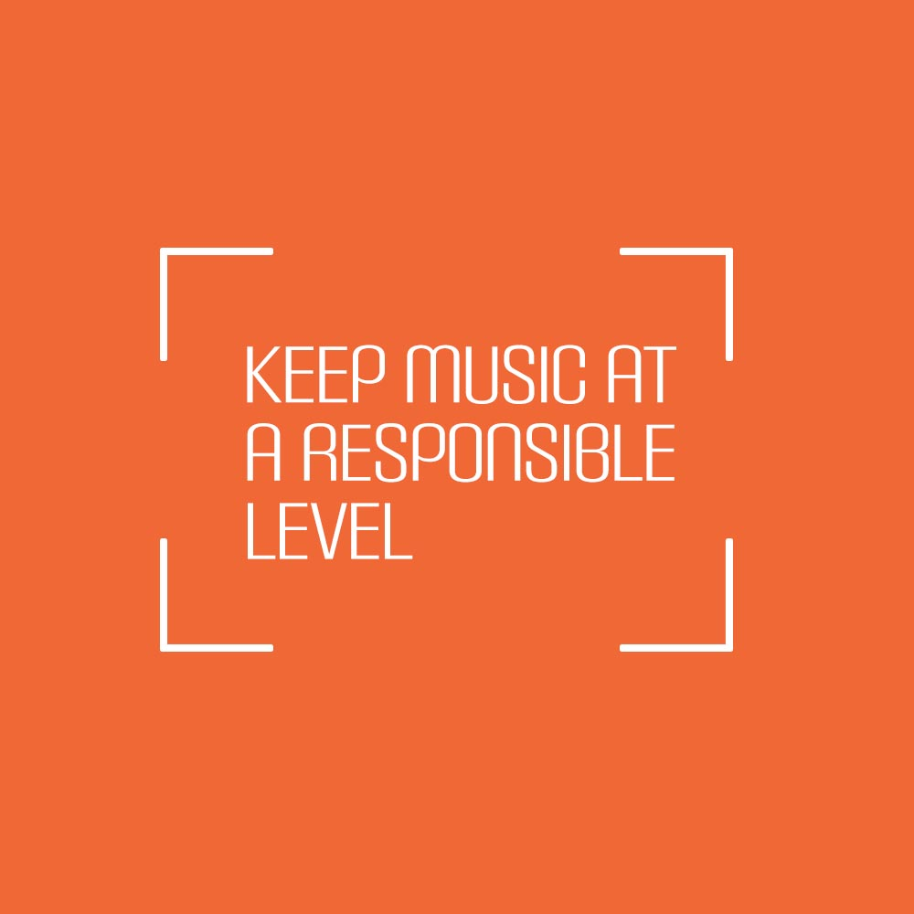 Keep Music at a Responsible Level